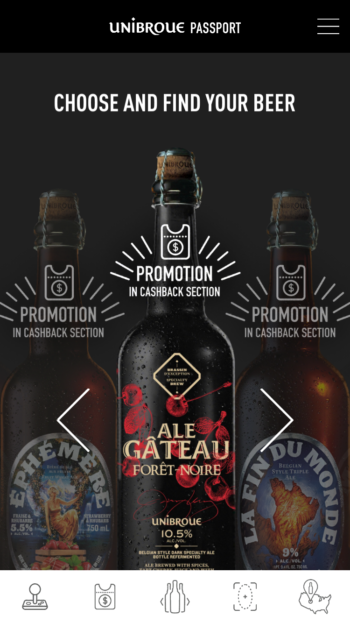 Unibroue App Select Adventure